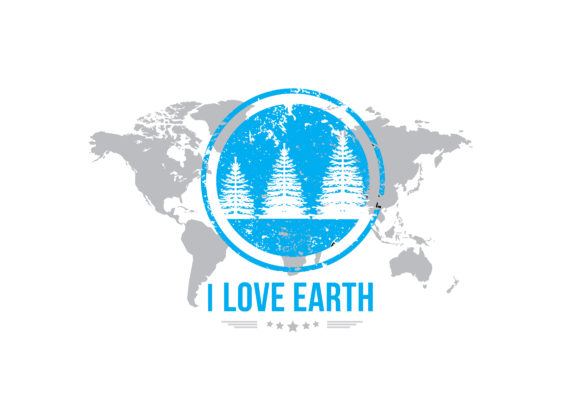 Print on Demand: I Love Earth Graphic Illustrations By baraeiji