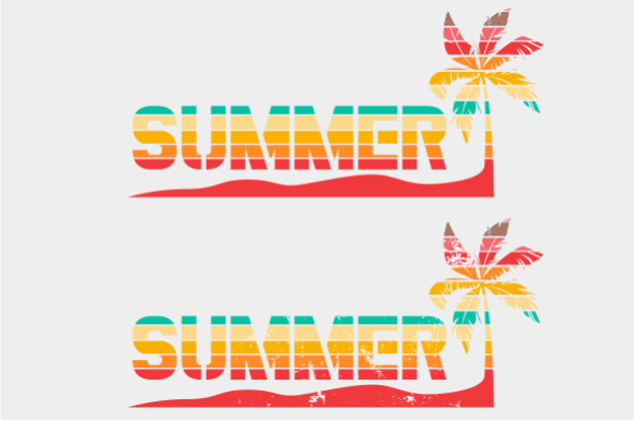 Print on Demand: Summer Palm Tree Graphic Crafts By AP