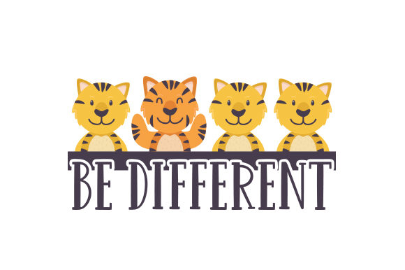 Be Different Cut File