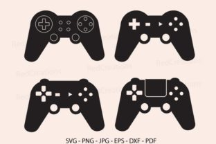Game Controller Graphic Crafts By RedCreations