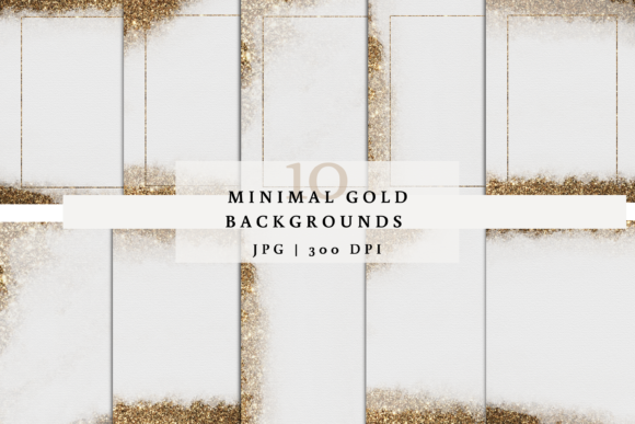 Gold Glitter Background, Gold Papers Graphic Backgrounds By SagaDesignStudio