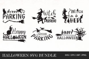 Print on Demand: Halloween Quotes Bundle Graphic Crafts By Dasagani