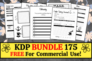 Print on Demand: KDP Bundle Pack 175 Templates + Extras Graphic KDP Interiors By KDP Mastermind