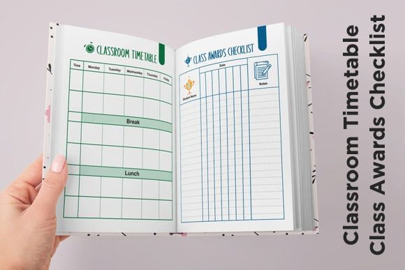 Print on Demand: KDP Full Premium Teacher Planner 2021 Graphic KDP Interiors By Queen Dreams Store - Image 9