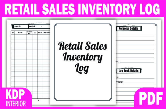Print on Demand: KDP Ready Interior RETAIL SALES INVENTOR Graphic KDP Interiors By Fayne