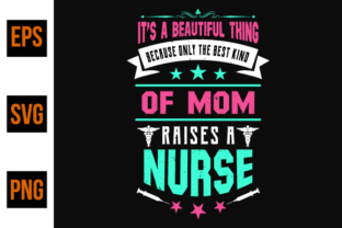 Print on Demand: Nurse Saying and Quote Design Vector. Graphic Print Templates By ajgortee