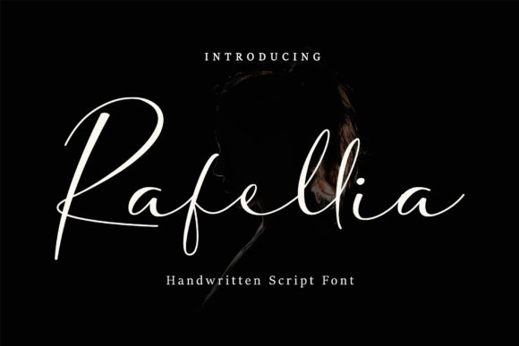 Print on Demand: Rafellia Script & Handwritten Font By tinyhandletter