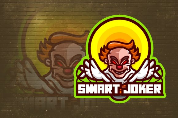Smart Joker E-Sport Logo Graphic Graphic Logos By remarena