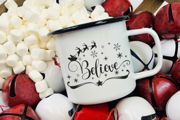 Believe in the Magic - Christmas SVG Graphic Item