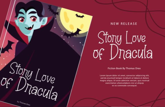 Cute Dracula Font Preview
