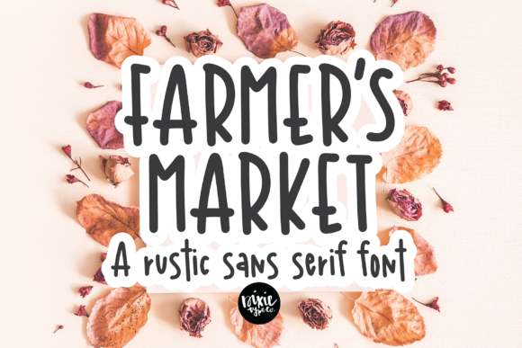 Print on Demand: Farmer's Market Script & Handwritten Font By dixietypeco