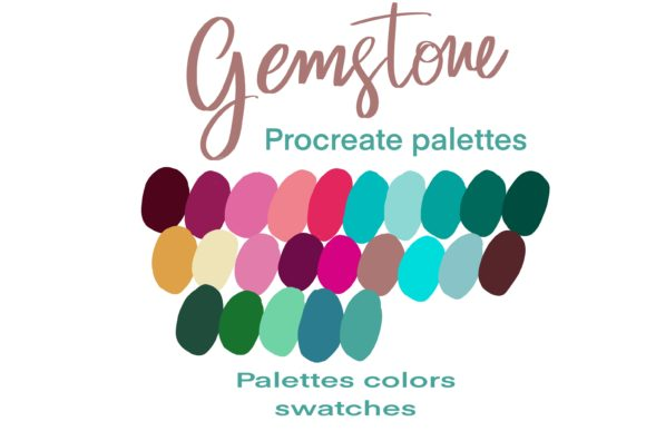 Gemstone Colors Graphic Add-ons By Poycl Jazz