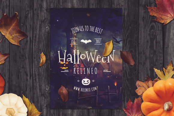 Halloween Mockup #18 Graphic Product Mockups By Relineo