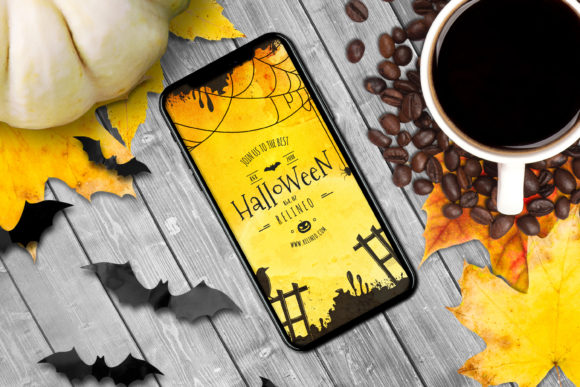 Halloween Mockup #26 Graphic Product Mockups By Relineo
