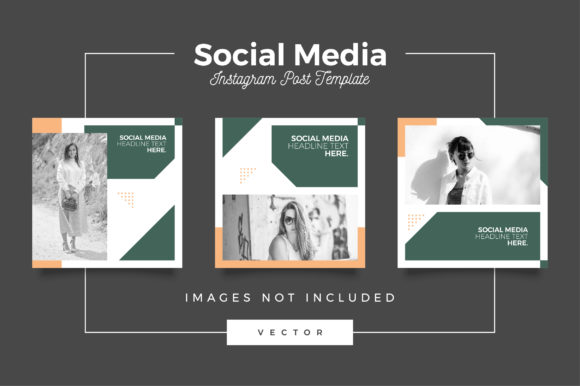 Print on Demand: Instagram Post Template Graphic Web Templates By Novendi88
