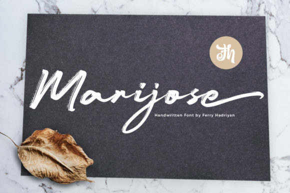 Print on Demand: Marijose Script & Handwritten Font By feydesign
