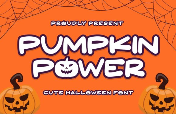 Print on Demand: Pumpkin Power Display Font By Typefar