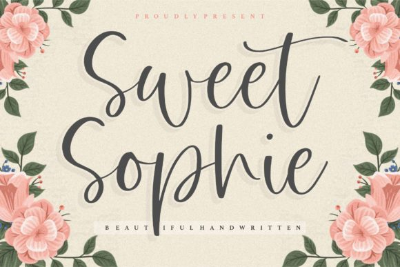 Print on Demand: Sweet Sophie Script & Handwritten Font By Balpirick
