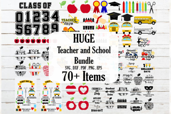 The Huge Crafter's Dream Bundle Graphic Graphic