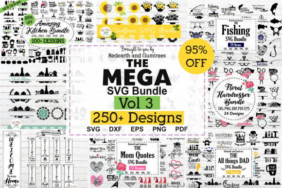 The Huge Crafter's Dream Bundle Graphic Download