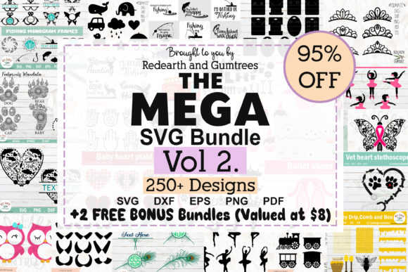 The Huge Crafter's Dream Bundle Graphic Image