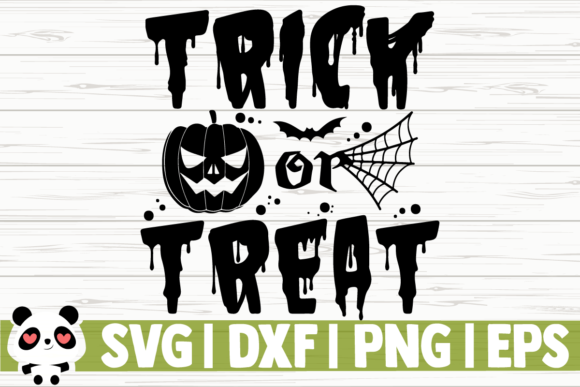 Print on Demand: Trick or Treat Graphic Illustrations By CreativeDesignsLLC