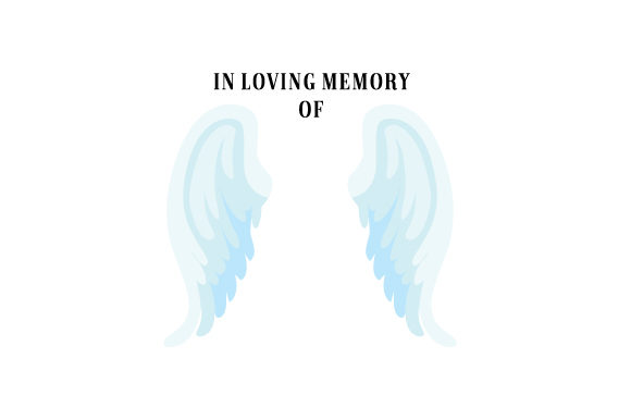 Angel Wings Memories Designs & Drawings Craft Cut File By Creative Fabrica Crafts