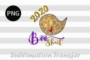 Print on Demand: 2020 Boo Sheet PNg Funny Halloween Graphic Crafts By ArtPrintables Designs