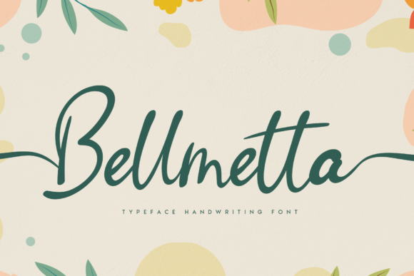 Print on Demand: Bellmetta Script & Handwritten Font By Creativewhitee