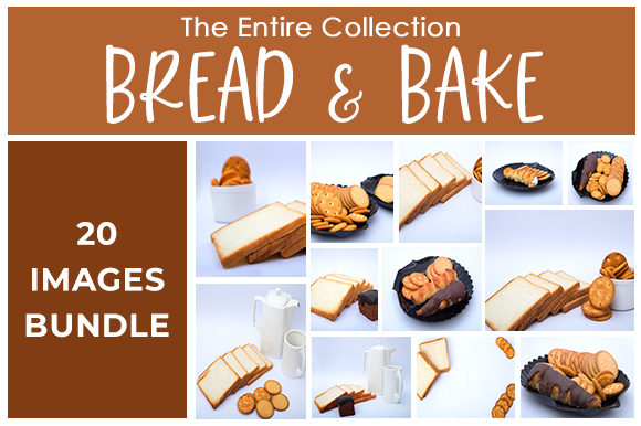 Print on Demand: Bread & Bake Bundle Graphic Food & Drinks By SnapyBiz
