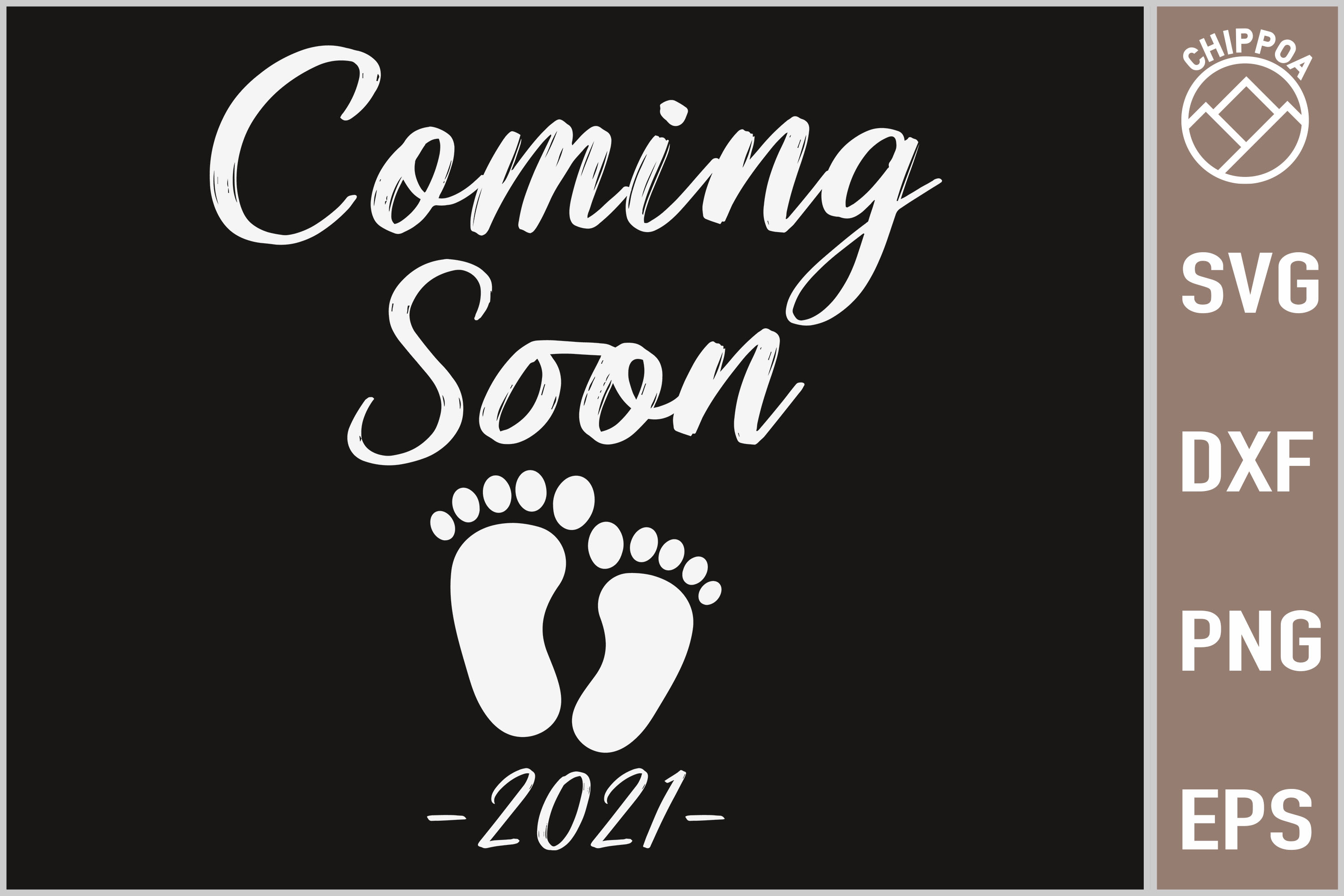 Coming Soon Baby Reveal Gift Graphic By Chippoa Creative Fabrica