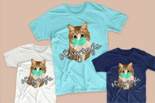 Print on Demand: Cute Cat Cartoon Bundle Graphic Illustrations By Universtock 3