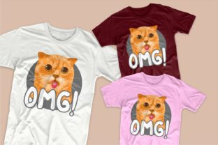 Print on Demand: Cute Cat Cartoon Bundle Graphic Illustrations By Universtock 4