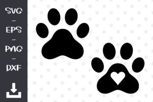 Dog Paws Print Graphic Objects By wanchana365