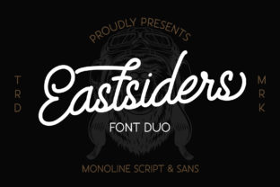 Print on Demand: Eastsiders Script & Handwritten Font By wellscriptstudio