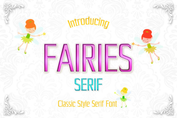 Print on Demand: Fairies Sans Serif Font By numnim