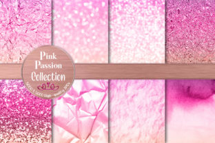 Gorgeous Pink Passion Texture Graphics Graphic Backgrounds By AM Digital Designs