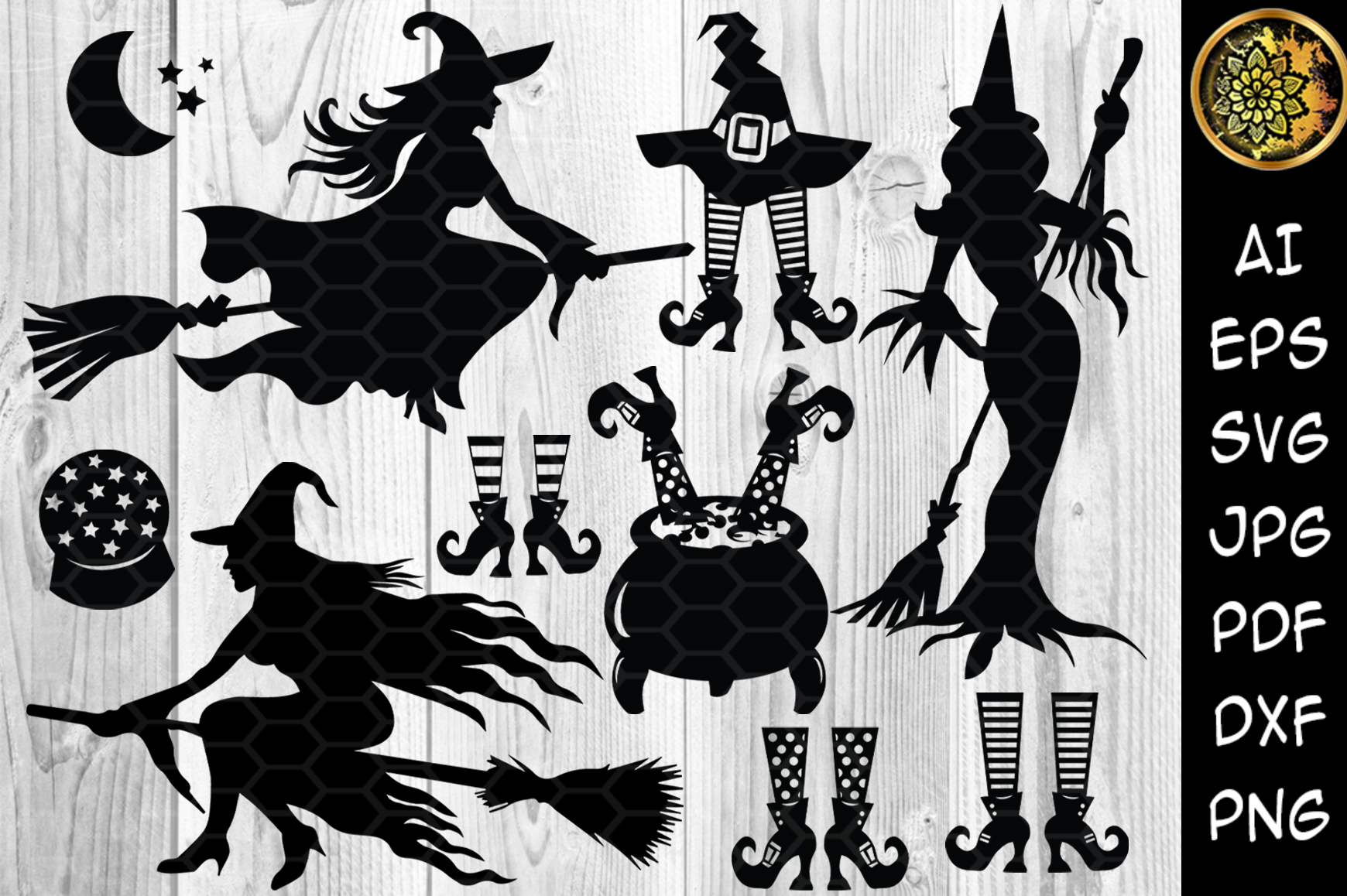 Download Halloween Ties Bundle, Svg Cutting Files SVG