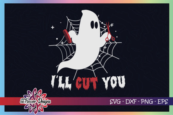 I'll Cut You Funny Halloween Boo Crew Graphic Crafts By ssflower
