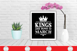 Print on Demand: Kings Are Born in March Graphic Crafts By BDB_Graphics