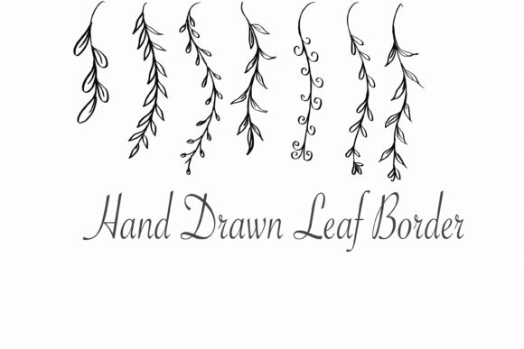 Leaves Borders Clipart Graphic Illustrations By PoyJazz