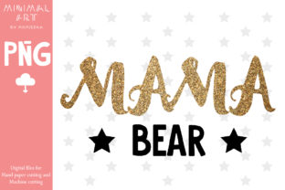 Print on Demand: Mama Mother's Day Sublimation Gráfico Crafts Por Momixzaa