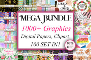 Mega Bundle Graphics  By PinkPearly