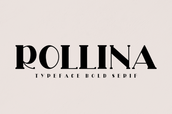 Print on Demand: Rollina Serif Font By Creativewhitee