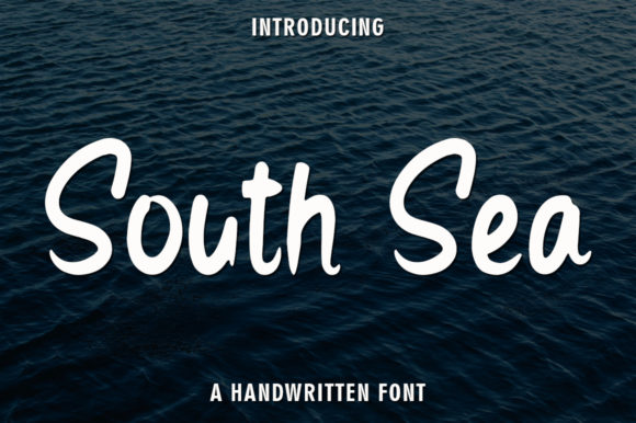 Print on Demand: South Sea Script & Handwritten Font By rangkaiaksara