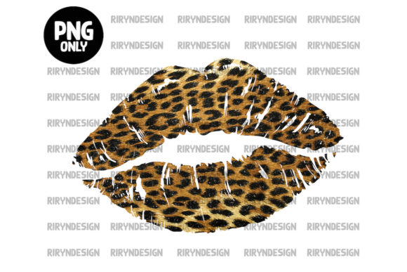 Tie Dye Lip Sublimation Design Graphic Icons By riryndesign