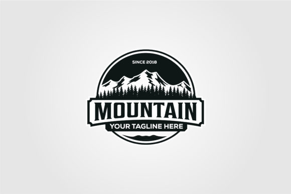 Mountain Adventure Badge Vector Design Graphic Logos By lawoel