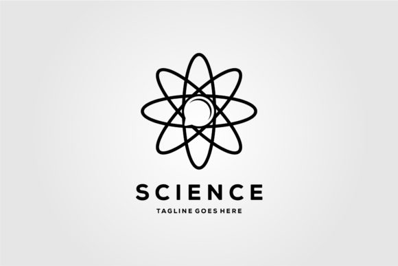 Science Logo Symbol Quantum Design Graphic Logos By lawoel