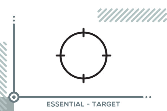 Essential - Target Graphic Icons By freddyadho