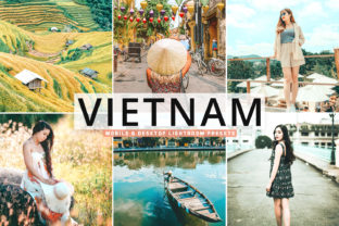 Print on Demand: Vietnam Pro Lightroom Presets Graphic Actions & Presets By Creative Tacos